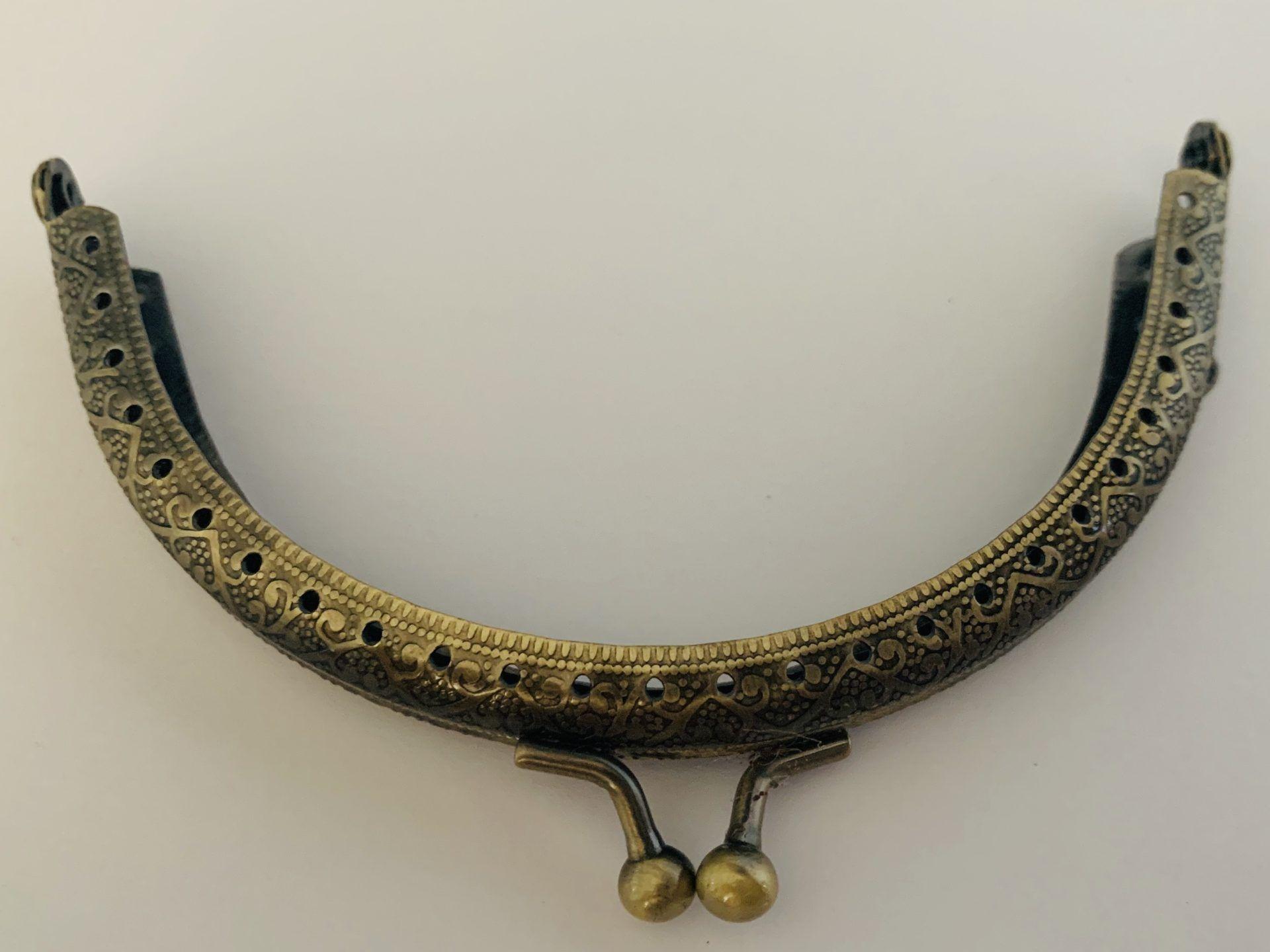 acheter code promo rencontrer Fermoir porte monnaie ou sac Bronze style vintage 10 cm